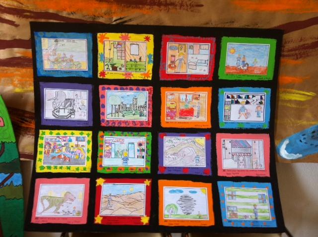 Quedamos en mi nube febrero 2013 for Decoracion aula primaria