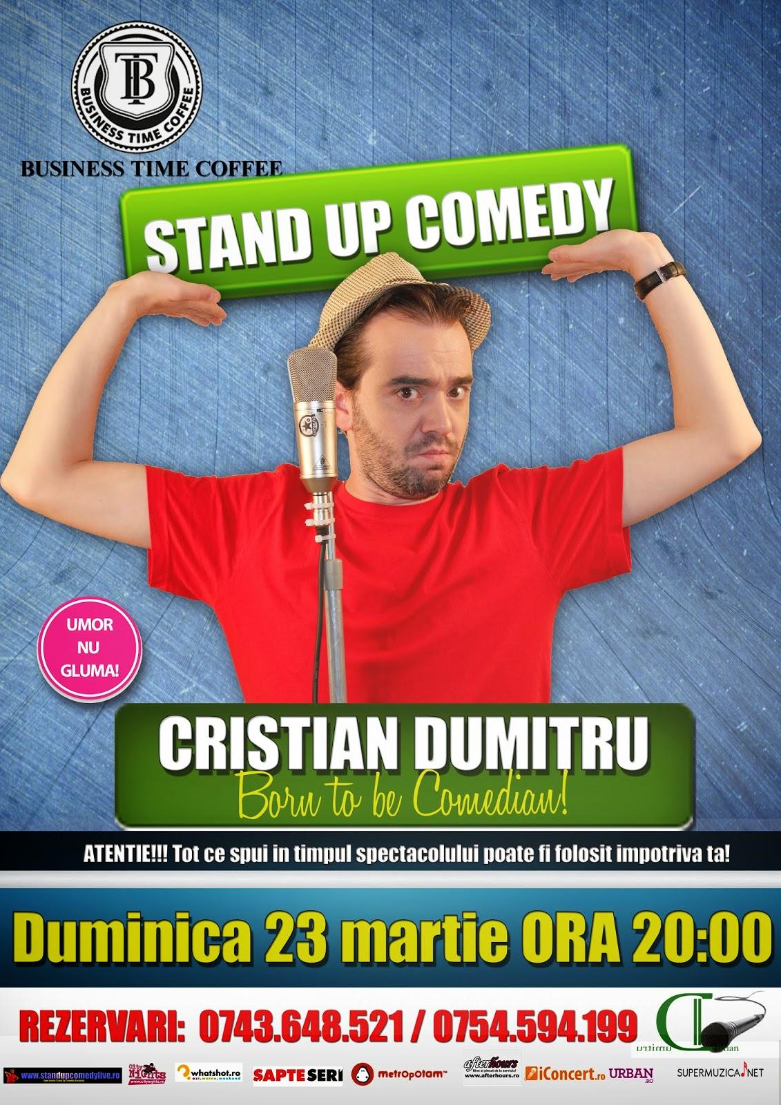 stand-up comedy bacau duminica