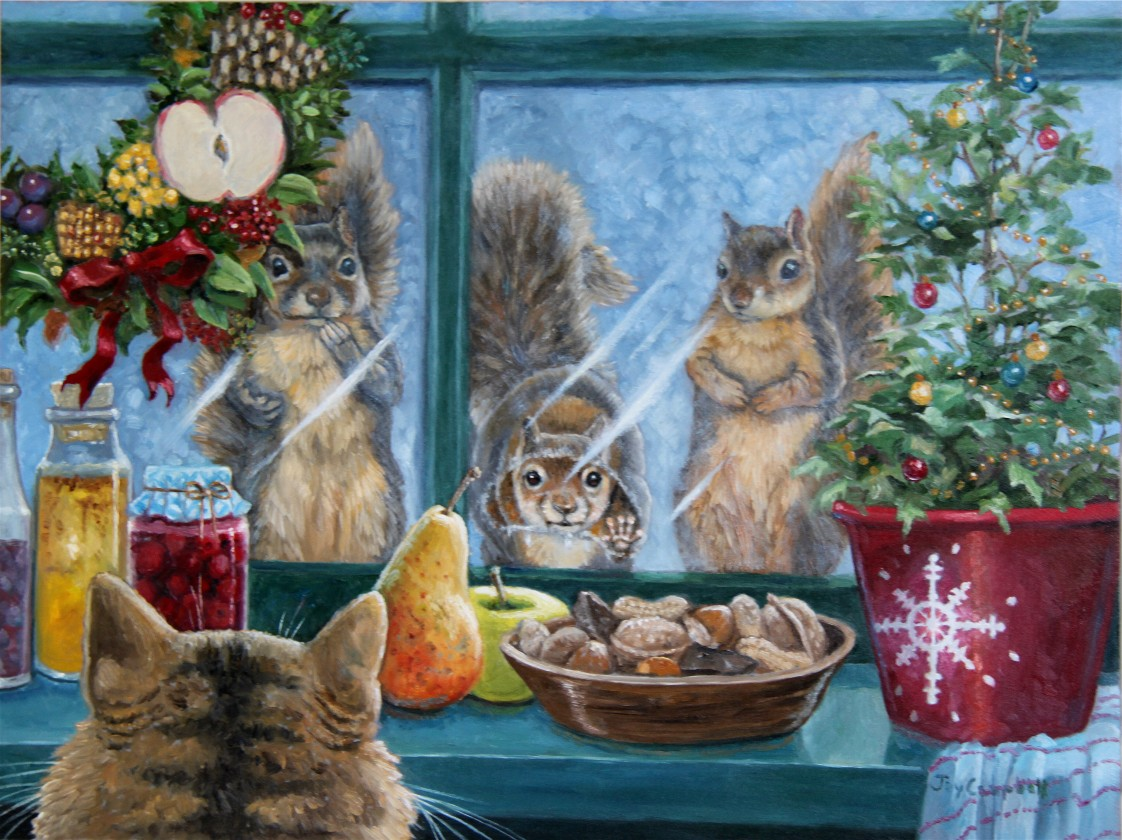 Joy Campbell Painting A Day Christmas Goodies