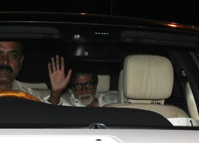Amitabh & Bollywood Celbs meets the Steven Spielberg