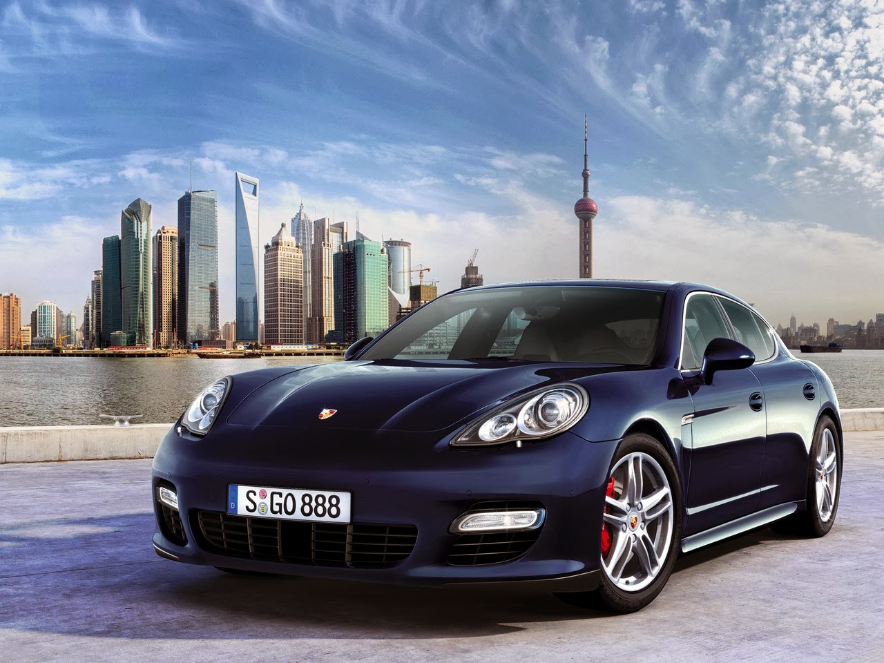 Foto Porsche Panamera New 2014