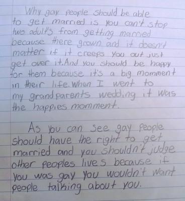 persuasive essay gay marriage
