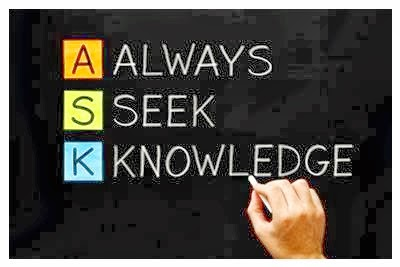 Ask, Seek, Knowldege