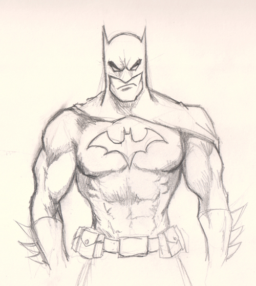 how to draw Batman title=