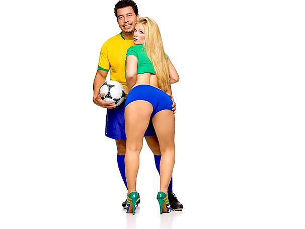 Gatas do futebol
