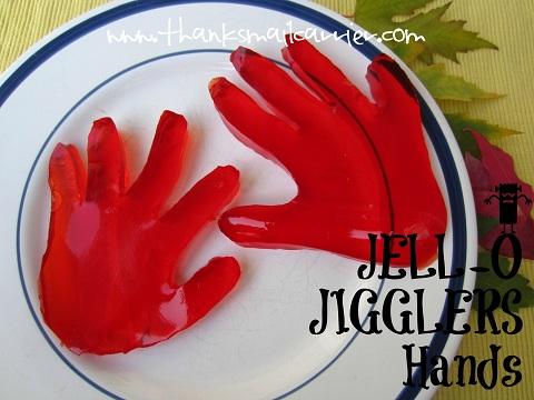 JELL-O JIGGLERS Hands