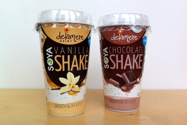 Delamere Dairy Chocolate and Vanilla Soya Shakes