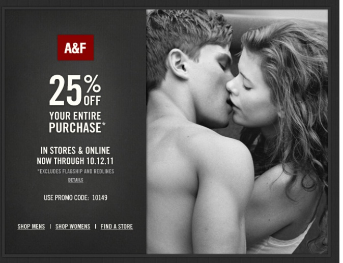 Abercrombie and fitch printable coupons november 2018