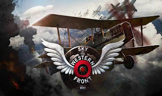 Screenshots of the Sky of the western front: WW1 for Android tablet, phone.