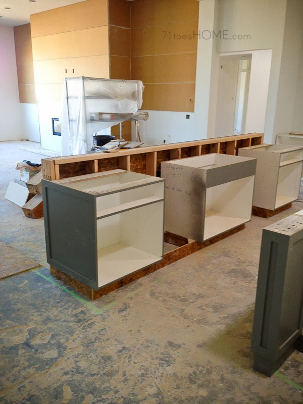 Small kitchen dark countertops