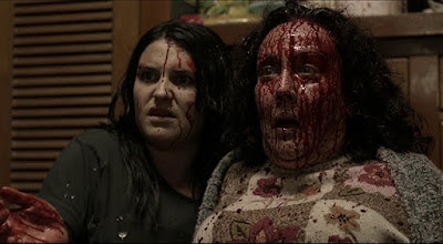 Morgana O'Reilly and Rima Te Wiata star in HOUSEBOUND (2014)