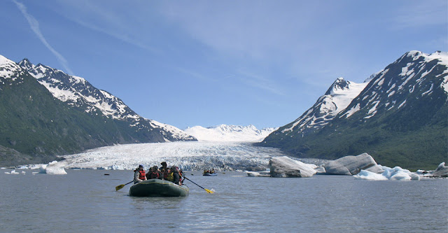 Boating in Alaska