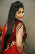 Ziya Khan Glamorous Photos in Red-thumbnail-12
