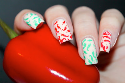 A Spicy Nail Art !