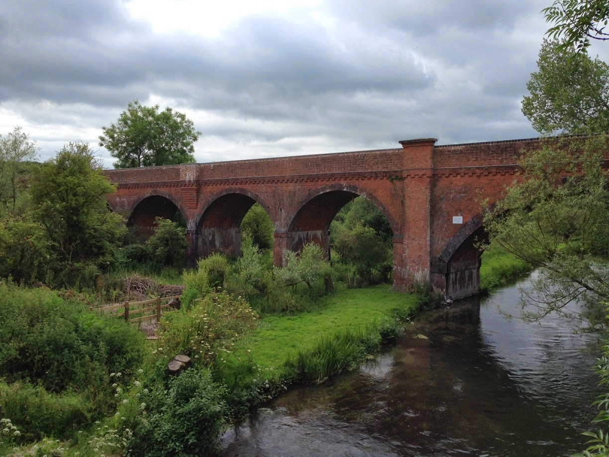 Hockley Railway Viaduct, near Winchester, Hampshire