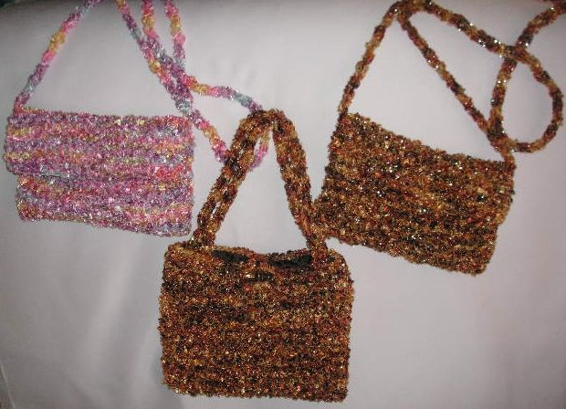 Knitting Galore Simple Knit Evening Bags