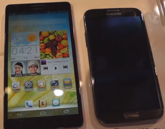 huawei ascend mate philippines, huawei ascend mate, huawei ascend mate vs samsung galaxy note 2