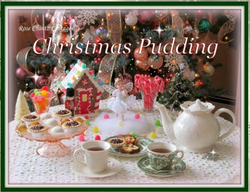 Rose Chintz Cottage- Christmas Pudding