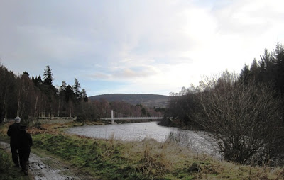 Walk the Deeside Way to Cambus o'May suspension bridge