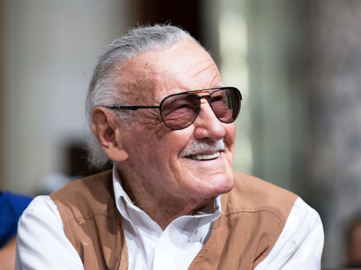 "RIP Stan ""The Man"" Lee"