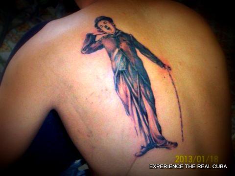 Body Art, Trinidad, Cuba