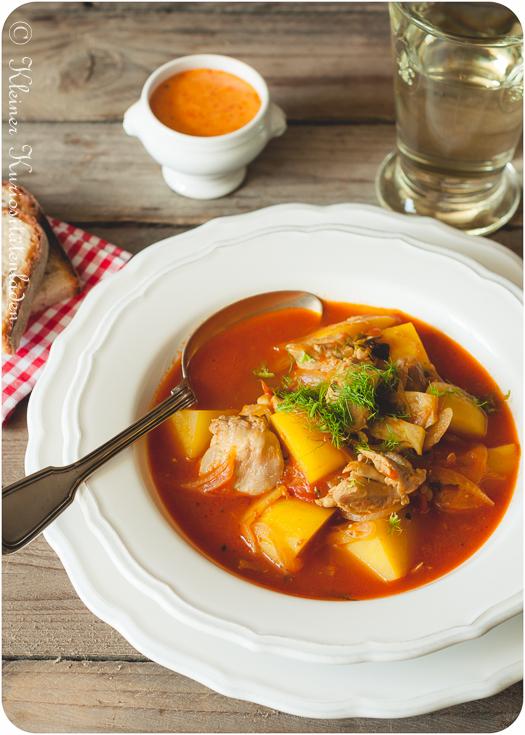 Bouillabaisse de poulet - Bouillabaisse mit Hühnchen