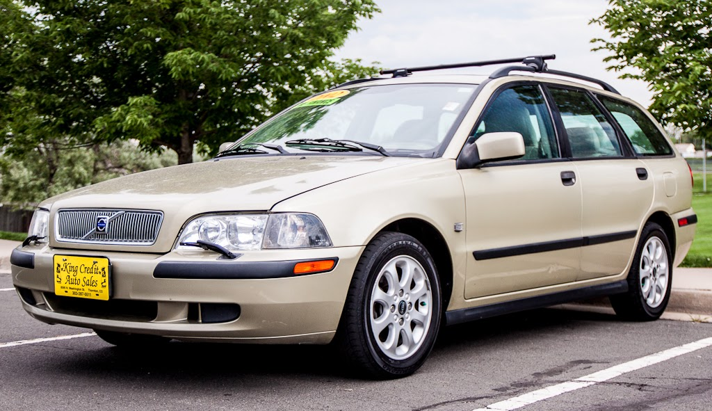 king credit auto sales 2002 volvo v40 used cars denver 23116. Black Bedroom Furniture Sets. Home Design Ideas