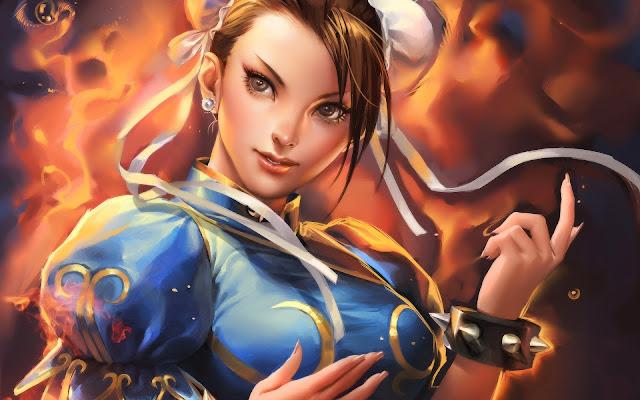 Street Fighter Chun-Li Fondos HD de Juegos