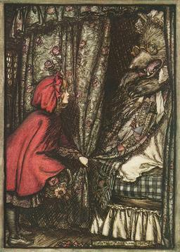 Illustration : Arthur Rackham