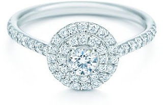 Tiffany Soleste Engagement Wedding Rings