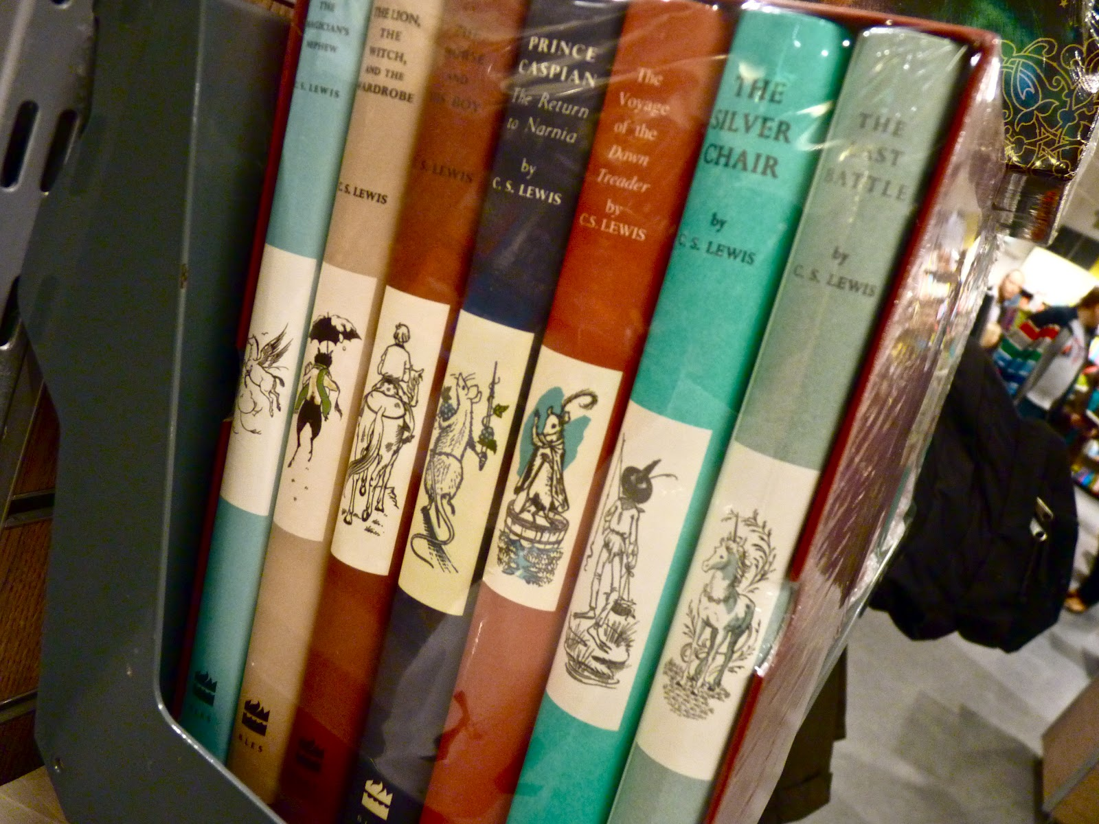 narnia bøger