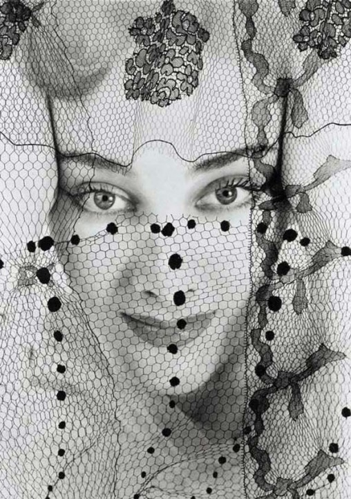 Erwin Blumenfeld Photo #lace #vintage #veil #fashion #style #1950s