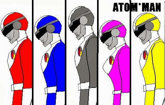 Esquadrão de aço - AtomMan