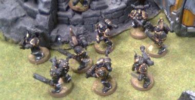 Legión Negra al norte de Trianus