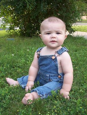 Mason six months old