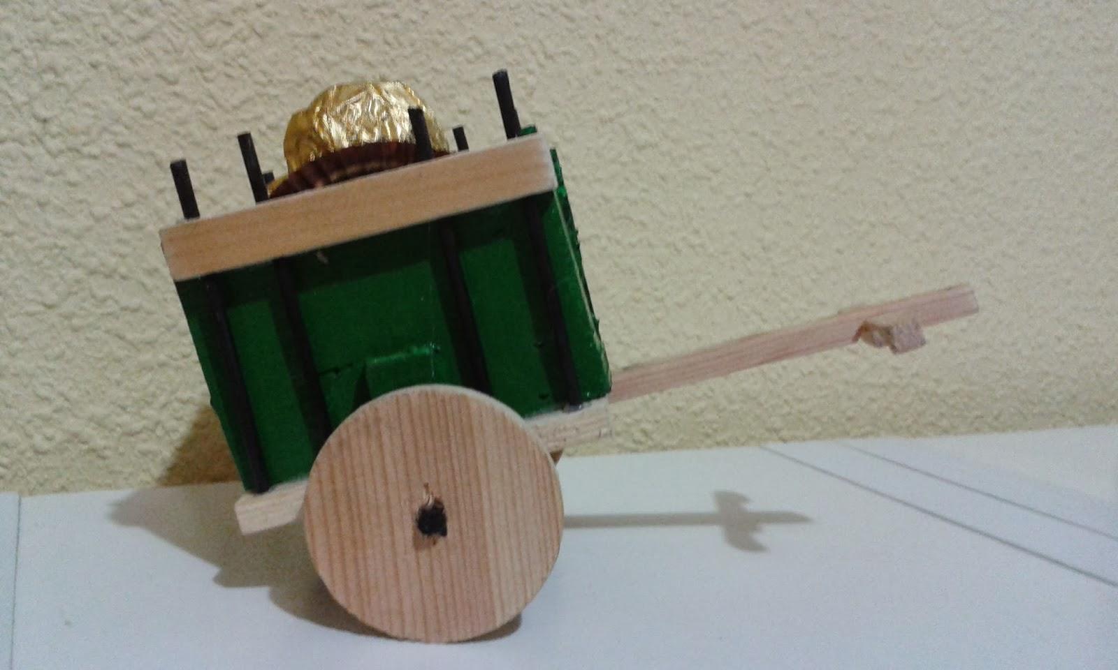 El Rinconcito De Saray Carros Con Madera Reciclada ~ Manualidades De Madera Reciclada