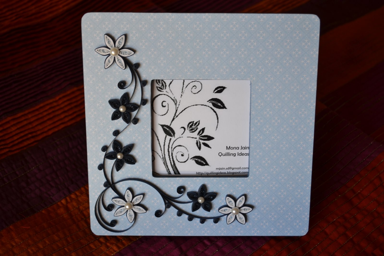 Quilling ideas picture frames quilling ideas jeuxipadfo Image collections