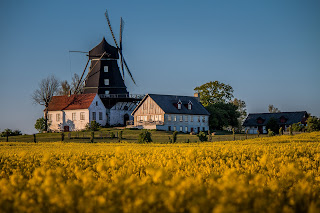 sverige sweden malmö burlöv windmill