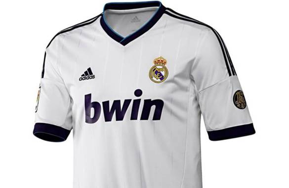 Camiseta del Real Madrid 2012 - 2013