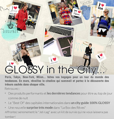 glossybox in the city