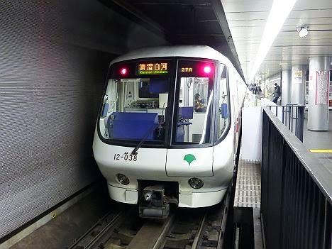 都営地下鉄大江戸線 清澄白河行き1 12-000形1・2次車