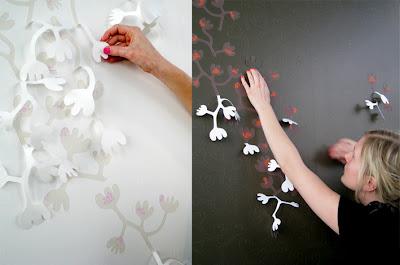 Decora el hogar decora distintos ambientes del hogar - Como decorar una pared blanca ...