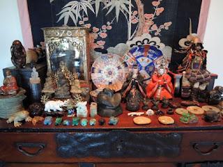 Xorin Balbes, Soul Space, nurture, Japanese chest, Buddha, jade, Burma