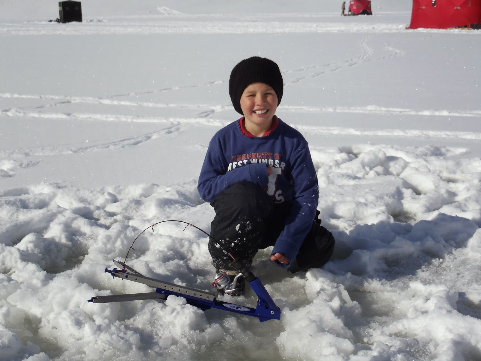 Utah fisherman the 2014 scofield ice fishing derby for Jaw jacker ice fishing