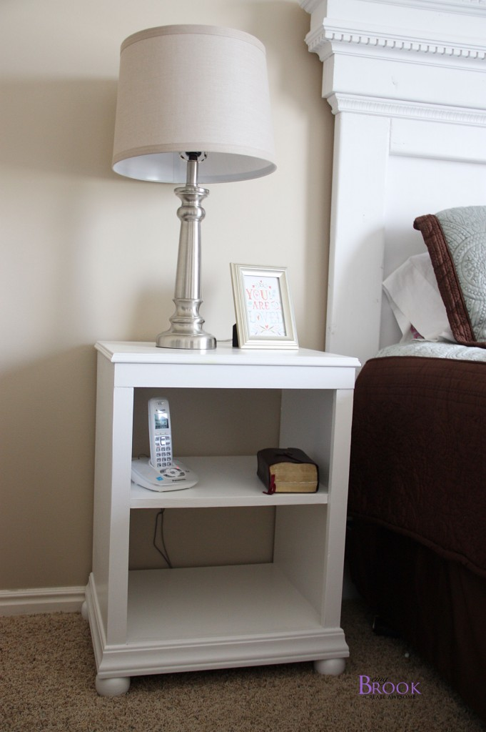 Katie Nightstand With Shelves Building Ana White