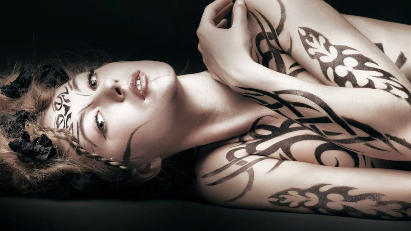 Best tattoo girl collection in the world - Abstrack Tattoos