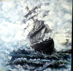 My Ghost Ship Painting - ETSY