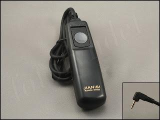 Trådutlösare för Canon EOS 650D