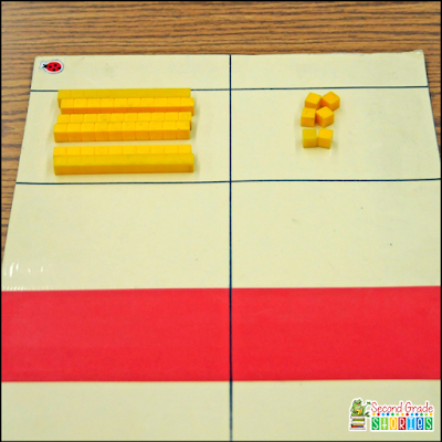 http://2gradestories.blogspot.com/2015/03/subtraction-with-regrouping-transition.html