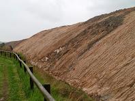 Observació del runam de les mines de potassa a la zona de la Botjosa